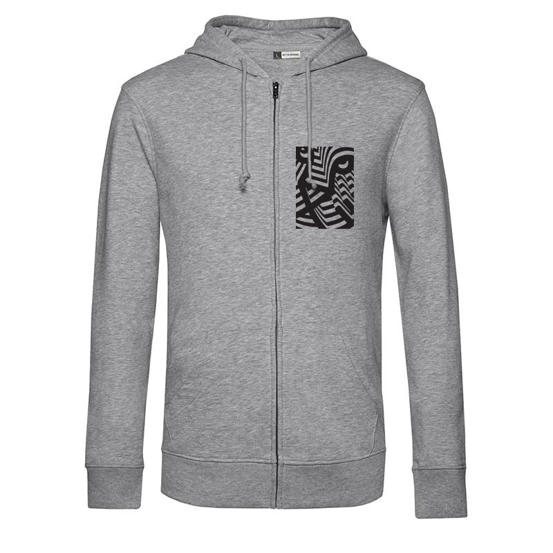 IFFR Zip-Hoodie Grey