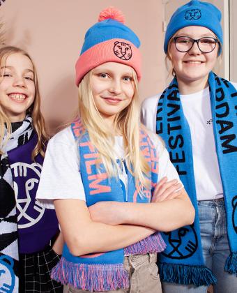 IFFR Beanie Kids Blue/Pink