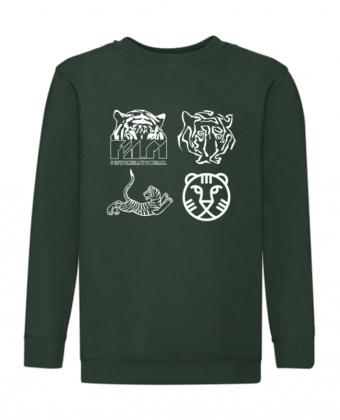 IFFR Kids Sweater Dark Green